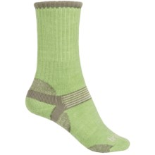 Bridgedale Merino Hiker Socks - Merino Wool, Crew (For Women) in Sage/Grey - 2nds