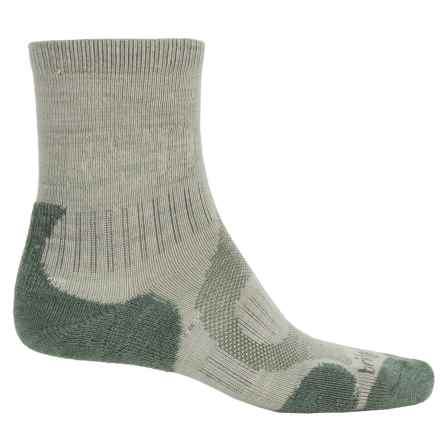 Bridgedale Merino Lite Hiking Socks - Merino Wool, Crew (For Men) in Sage - 2nds