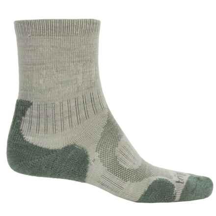 Bridgedale Merino Lite Hiking Socks - Merino Wool, Crew (For Men) in Sage - 2nds