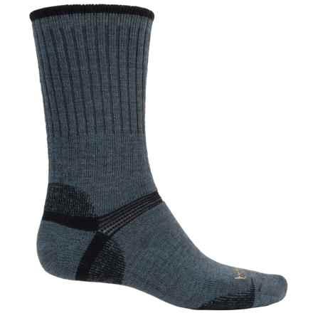 Bridgedale Merino Wool Socks - Crew (For Men) in Gunmetal Black - Closeouts