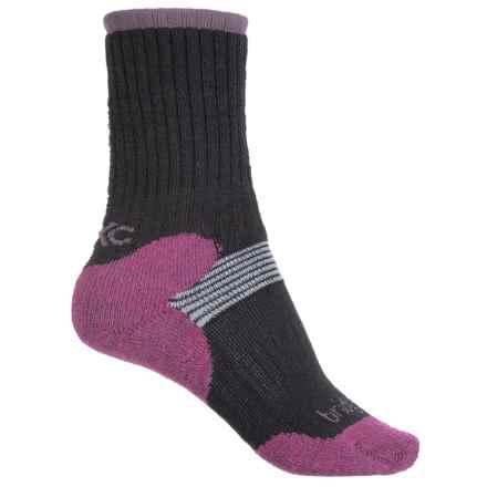 Bridgedale MerinoFusion Cross-Country Ski Socks - 2-Pack, Crew (For Women) in Black - 2nds