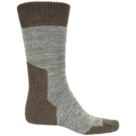 Bridgedale MerinoFusion Heavyweight Trail Socks - Crew (For Men) in Olive - Closeouts