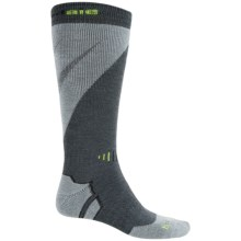 Bridgedale MerinoFusion Mountain Ski Socks - Merino Wool, Over the Calf (For Men) in Charcoal/Grey - 2nds
