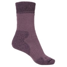 Bridgedale MerinoFusion® Summit Socks - Crew (For Women) in Aubergine - 2nds