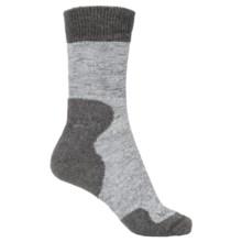 Bridgedale MerinoFusion® Summit Socks - Crew (For Women) in Grey - 2nds