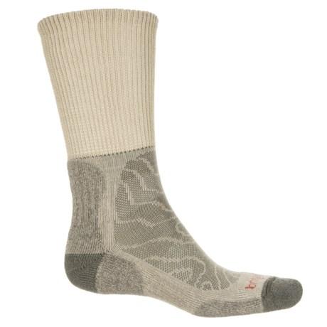 Bridgedale MerinoFusion® Trail Socks - Crew (For Men) in Natural