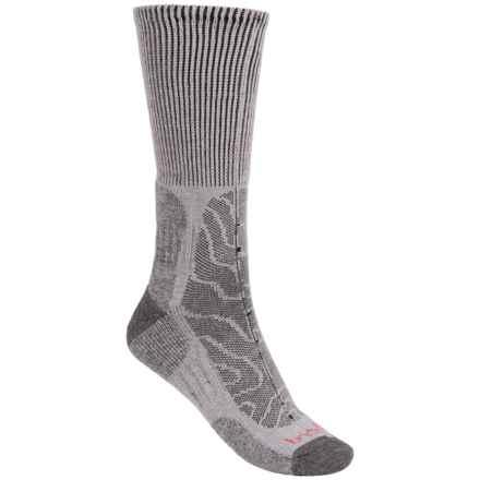 Bridgedale MerinoFusion Trail Socks - Merino Wool, Crew (For Men) in Grey/Dark Grey - 2nds