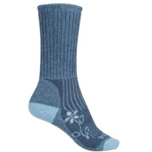 Bridgedale MerinoFusion Trekker Boot Socks - Merino Wool, Crew (For Women) in Blue - 2nds