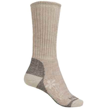 Bridgedale MerinoFusion Trekker Boot Socks - Merino Wool, Crew (For Women) in Natural - 2nds