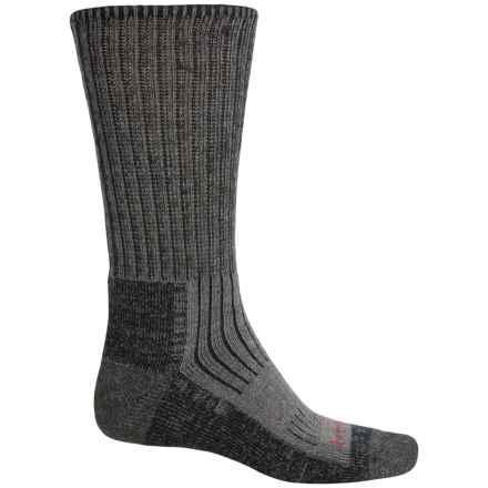 Bridgedale MerinoFusion® Trekker Socks - Merino Wool, Crew (For Men) in Charcoal - Closeouts