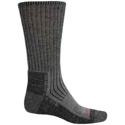Bridgedale MerinoFusion® Trekker Socks - Merino Wool, Crew (For Men) in Charcoal - Closeouts