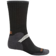 Bridgedale MerinoFusion XC Classic Ski Socks - New Wool, Merino Wool, Crew (For Men) in Black/Charcoal - 2nds