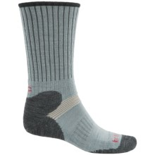 Bridgedale MerinoFusion XC Classic Ski Socks - New Wool, Merino Wool, Crew (For Men) in Grey/Charcoal - 2nds