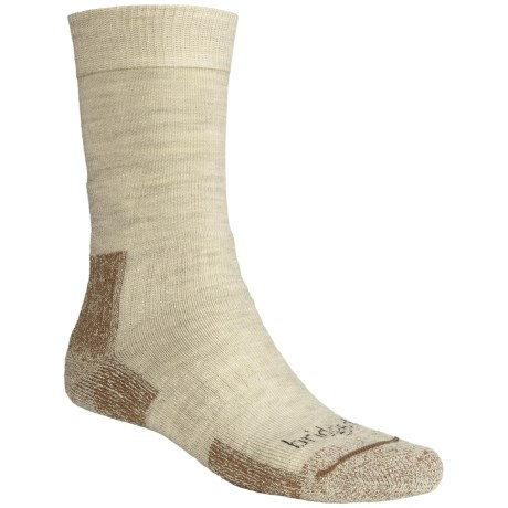 Bridgedale Midweight Hiker Socks - Merino Wool  (For Men and Women) in Natural