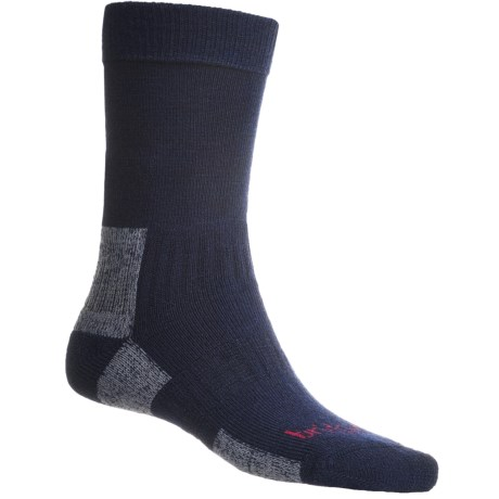Bridgedale Midweight Hiker Socks - Merino Wool  (For Men and Women) in Navy/Grey