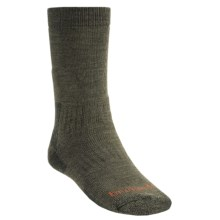 Bridgedale Midweight Hiker Socks - Merino Wool  (For Men) in Olive - 2nds