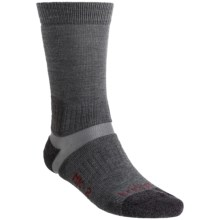 Bridgedale MK 2 Military Socks - Wool Blend (For Men and Women) in Grey/Charcoal - Closeouts