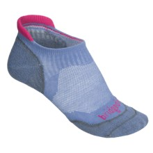 Bridgedale Na-Kd No-Show Socks - Below the Ankle (For Women) in Lavender/Lavender Marl - 2nds