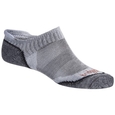 Bridgedale Na-Kd No-Show Socks - Lightweight (For Men) in Grey