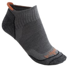 Bridgedale Na-Kd No-Show Socks - Lightweight (For Men) in Gunmetal - 2nds