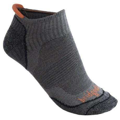 Bridgedale Na-Kd No-Show Socks - Lightweight (For Men) in Gunmetal