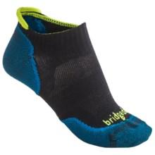 Bridgedale Na-Kd No-Show Socks - Lightweight (For Men) in New Black - 2nds