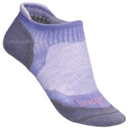 Bridgedale Na-Kd No-Show Socks - Lightweight (For Women) in Smokey Blue