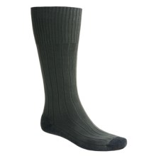 Bridgedale Pathfinder Socks - Nylon-Wool, Over the Calf (For Men and Women) in Dark Sage - 2nds