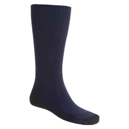 Bridgedale Pathfinder Socks - Nylon-Wool, Over the Calf (For Men and Women) in Navy - 2nds