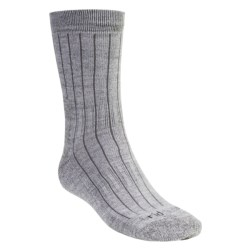 Bridgedale Premium CoolMax® Weekend Socks - Lightweight, Merino Wool, Mid-Calf (For Men and Women) in Natural