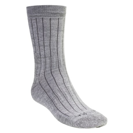 Bridgedale Premium CoolMax® Weekend Socks - Lightweight, Merino Wool, Mid-Calf (For Men and Women) in Black