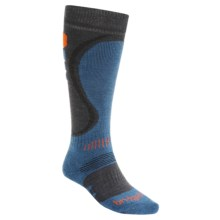 Bridgedale Snowboard Socks - Merino Wool (For Men) in Gunmetal/Midnight - 2nds
