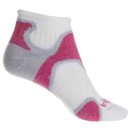 Bridgedale Speed Diva Socks - Ankle (For Women) in Dusky Pink - 2nds