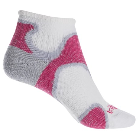 Bridgedale Speed Diva Socks - Ankle (For Women) in Dusky Pink