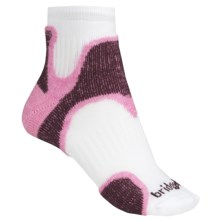 Bridgedale Speed Diva Socks - Merino Wool, Below-the-Ankle (For Women) in Pink/Plum - 2nds