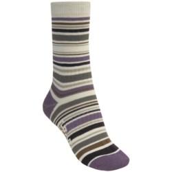 Bridgedale Stripes Socks (For Women) in Earth