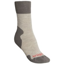 Bridgedale Summit Hiker Socks - Merino Wool, Heavyweight (For Women) in Natural Taupe - Closeouts