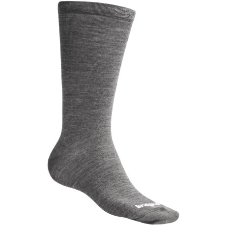 Bridgedale Thermal Liner Socks (For Men and Women) in Grey