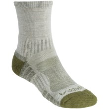Bridgedale Trail Light Socks (For Men and Women) in Chino/Green - 2nds