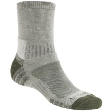 Bridgedale Trail Light Socks (For Men and Women) in Stone/Green - 2nds