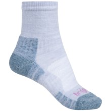 Bridgedale Trail Light Socks - New Wool, Ankle (For Women) in Grey/Smokey Blue - Closeouts