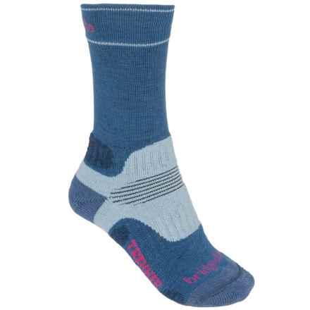 Bridgedale Trekker Hiker Socks - Wool, Midweight (For Women) in Blue - 2nds