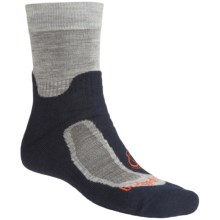Bridgedale Ventum Light Hiker Socks - Merino Wool (For Men and Women) in Silver/Navy - 2nds