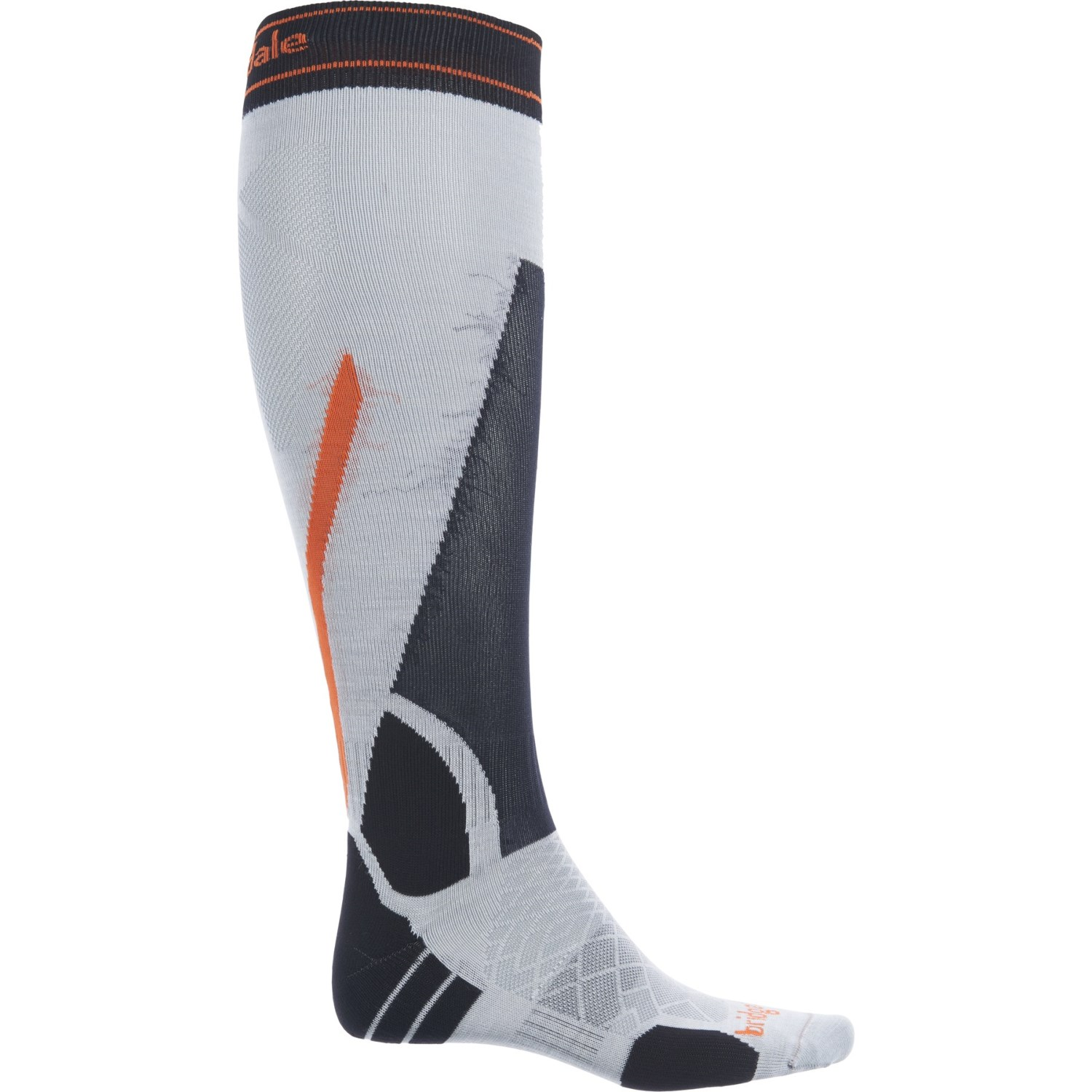 Bridgedale Mens Lightweight Heel Fit Merino Fusion Winter Sport Socks