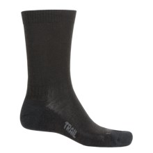 Bridgedale WoolFusion Trail Socks - Crew (For Men) in Black - 2nds