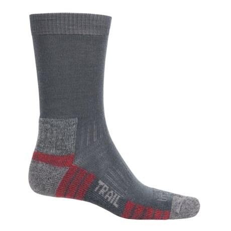 Bridgedale WoolFusion Trail Socks - Crew (For Men) in Gunmetal