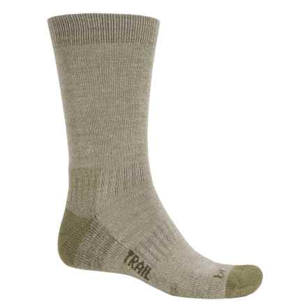 Bridgedale WoolFusion Trail Socks - Crew (For Men) in Olive - 2nds