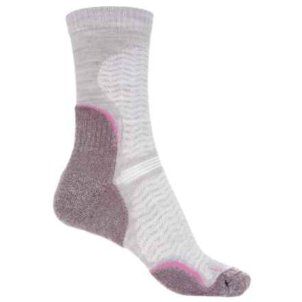 Bridgedale WoolFusion Trail Socks - Crew (For Women) in Aubergine - 2nds