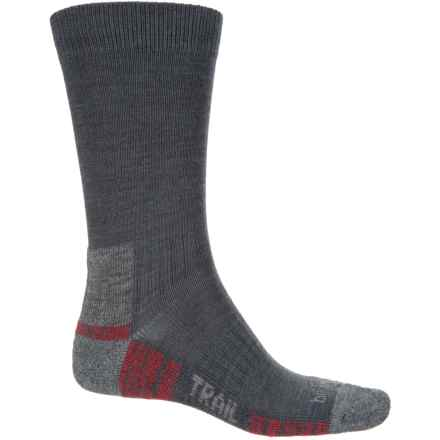 Bridgedale WoolFusion Trail Socks - New Wool, Crew (For Men) in Gunmetal - Closeouts