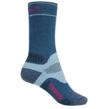 Bridgedale WoolFusion Trekker Boot Socks - Crew (For Women) in Blue Sky - 2nds